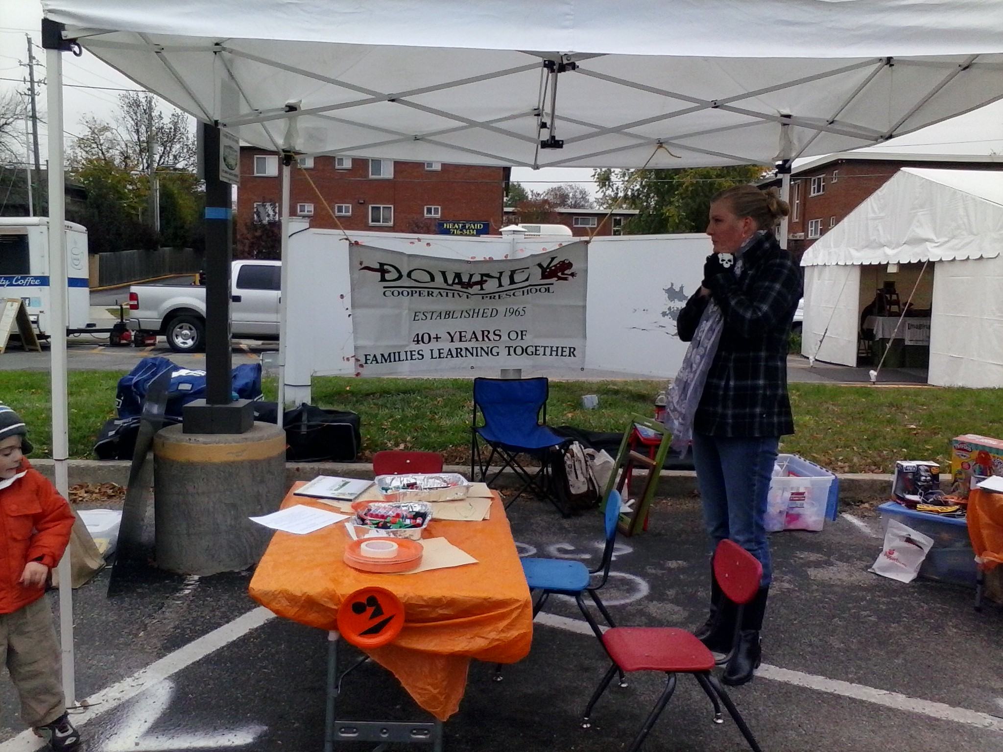 Downey booth at the 2013 Irvington Halloween Festival – Downey ...