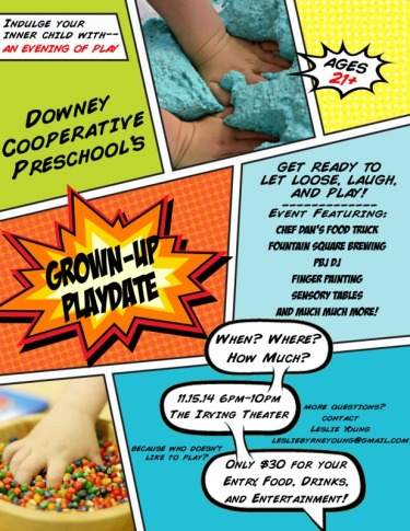 Downey_Comic_Flyer